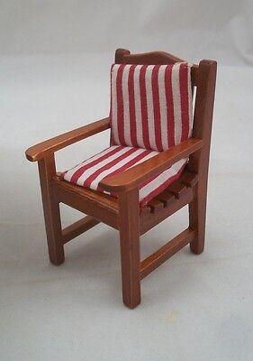 Garden  1.809//6 wooden miniature dollhouse 1//12 scale Reutter Chair