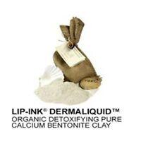 Lip-ink® Detoxifying Pure Calcium Bentonite Clay Natural Organic Vegan Kosher