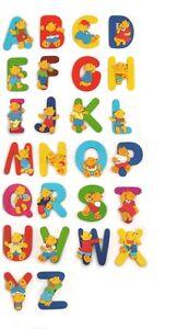 Buchstaben holz Vorname Name Alphabet Babyzimmer Kinderzimmer ...