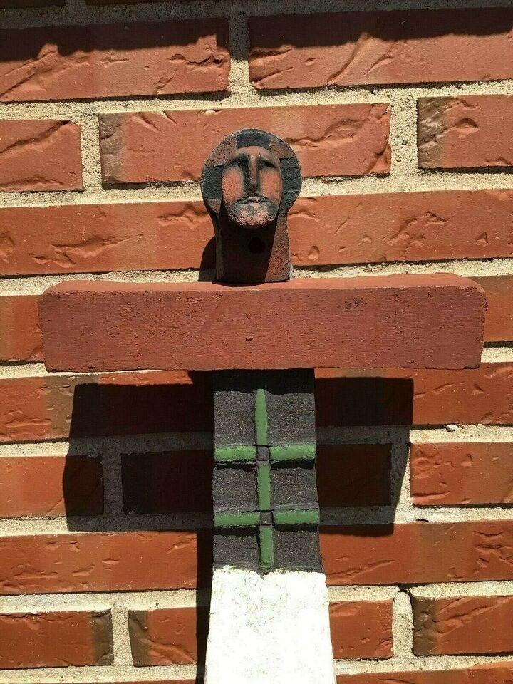 Krucifiks, Niels Helledie, motiv: Krucifiks