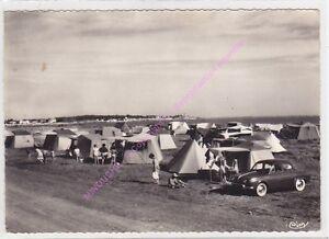 CPSM-17450-FOURAS-LES-BAINS-Camping-de-la-Fumee-voiture-Edit-COMBIER