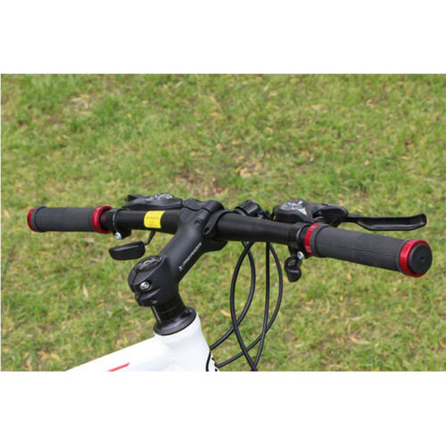 1Pair Cycling Bike Bicycle MTB Handlebar Grips Rubber Anti-slip Handle Grip