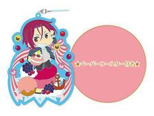 Free! Eternal Summer Matsuoka Rin Fresh!Fruit!Birthday! Rubber strap coaster