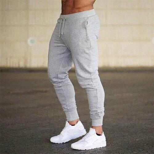 Herren Freizeit Sport Fitness Hose Jogger Slim Pluderhosen Sweathose Jogginghose