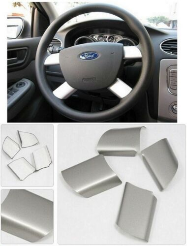 Ford Focus 2 mk2 Acier Inoxydable Volant rayons ouverture capot TDCi St Chrome
