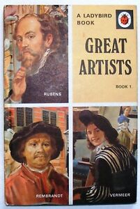 Vintage-Ladybird-Book-Great-Artists-Book-1-701-2-039-6-First-Edition-Very-Good
