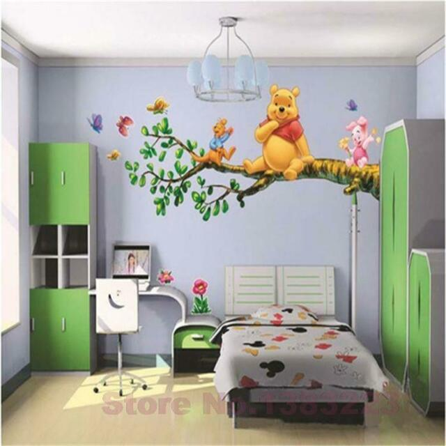 Wandtattoo Winnie Pooh Xxl Wandsticker Wandaufkleber Kinderzimmer Puh Disney