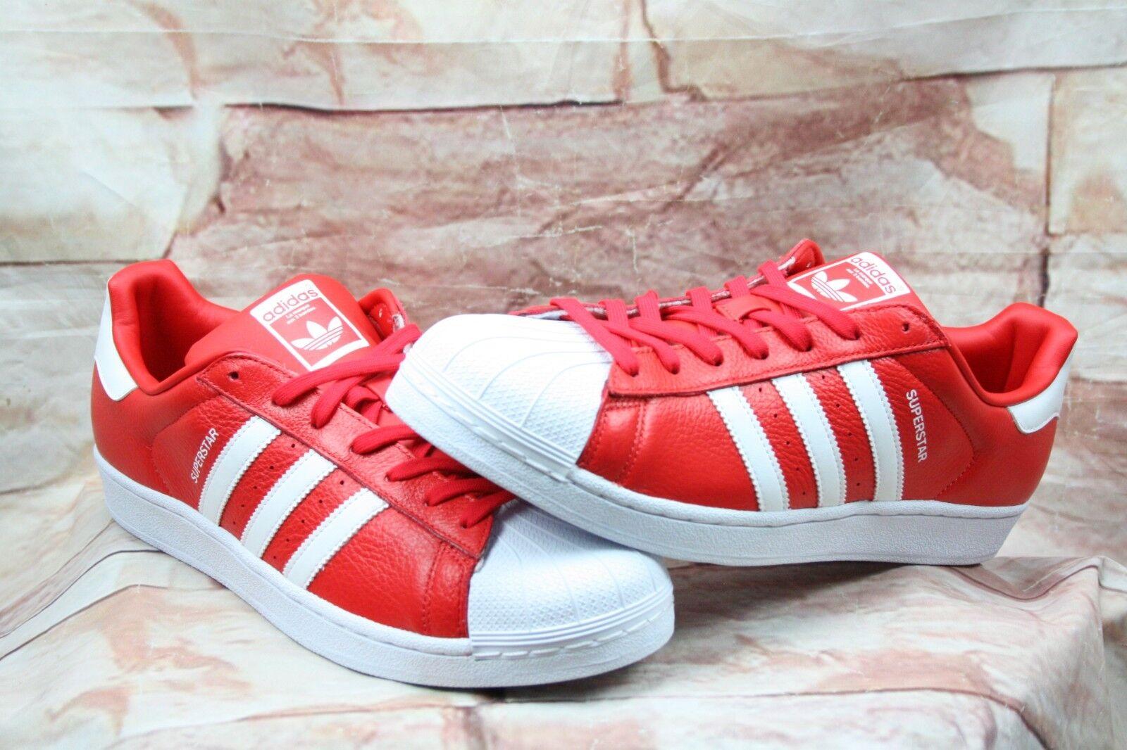 Adidas originals superstar männer - 13 rot / weißen turnschuhen - männer bb2240 658609