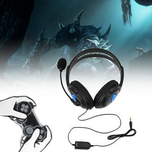 Wired-Gaming-Headset-Headphones-with-Microphone-for-Sony-PS4-PlayStation-4-GQ