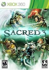 Sacred 3 RE-SEALED Microsoft Xbox 360 GAME
