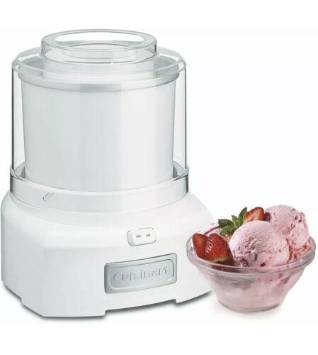 Cuisinart 1.5Qt Ice Cream Maker//Frozen Yogurt Same Day Fast Shipping
