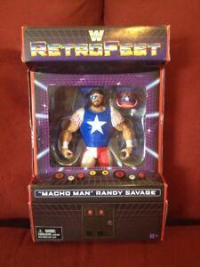 WWE Mattel Macho Man Randy Savage Retrofest Gamestop Exclusive Elite Figure