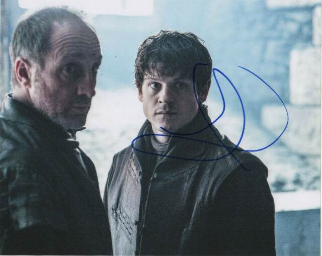 Iwan Rheon Game of Thrones Autographed Signed 8x10 Photo COA