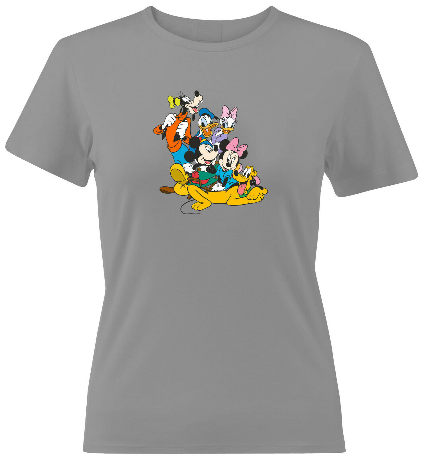 Disney Mickey Minnie Mouse Goofy Donald Duck 2020 Men Women Unisex T-shirt V202
