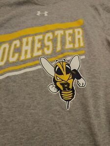 University of Rochester Yellow Jackets Under Armour Gray T ...