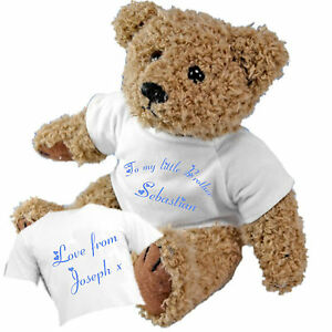 Personalised-Teddy-Bear-for-My-Little-Brother-from-a-Big-Sister-Brother-GIFT