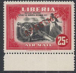 Liberia 1947 YV Airmail 53 SPECIMEN MNH VF