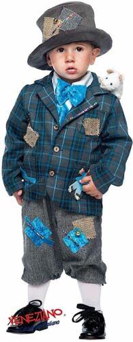 ragazzi vittoriano Vagabond Costume Outfit 0-6 anni ITALIAN Made Baby