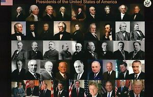 All presidents of the united states george washington to for Pictures of all presidents of the united states in order