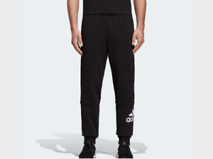 ADIDAS-PANTALONE-TUTA-UOMO-MUST-HAVES-FRENCH-TERRY-BADGE-OF-SPORT-DQ1445-NERO