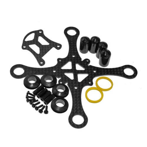 JMT 100MM Wheelbase  CF Hollow Cup Rack Brushed Mini Quadcopter Frame Kit