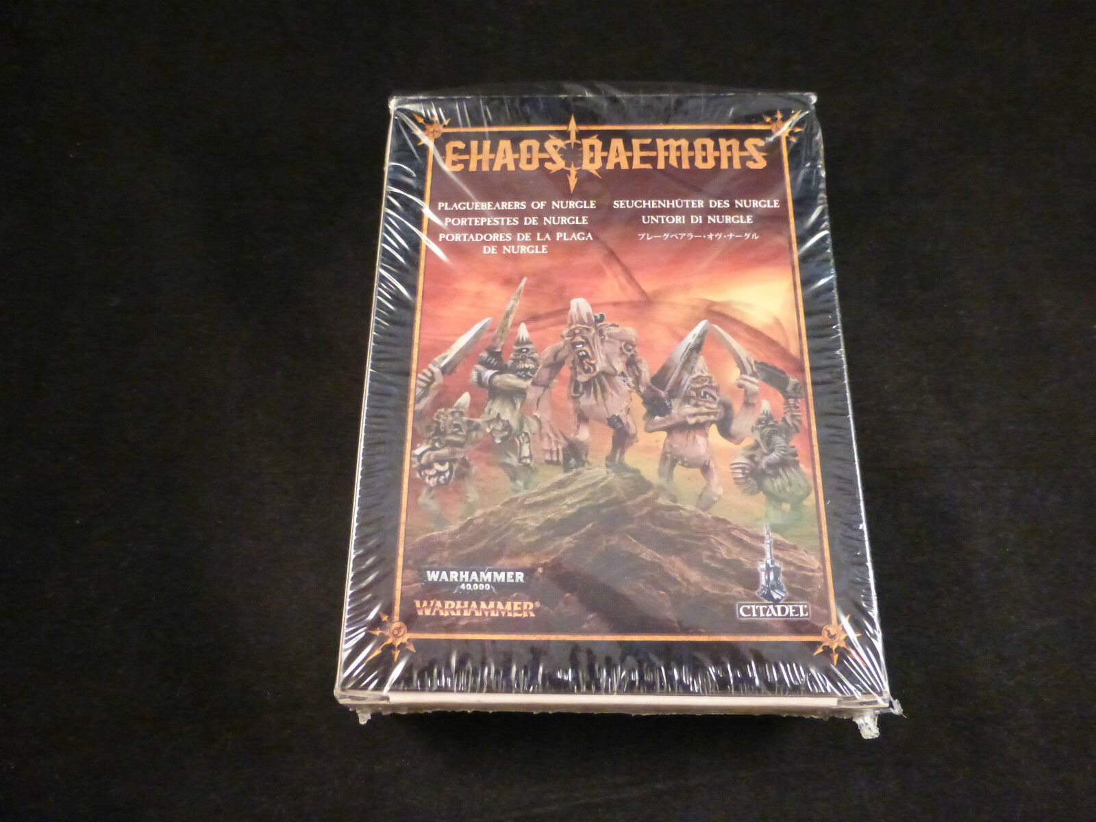 Chaos Daemons Plaguebearers of Nurgle (5) Metal Boxed Set