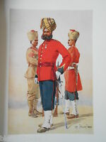 Antiquarian Indian/India Army Print (1911) 1st/3rd Brahmans - Major A C Lovett