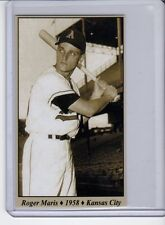 Roger Maris 1958 Kansas City Athletics Tobacco Road series #27