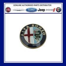 ALFA ROMEO 145 155 156 164 166 GTV SPIDER FRONT BONNET GRILLE BADGE 60596492