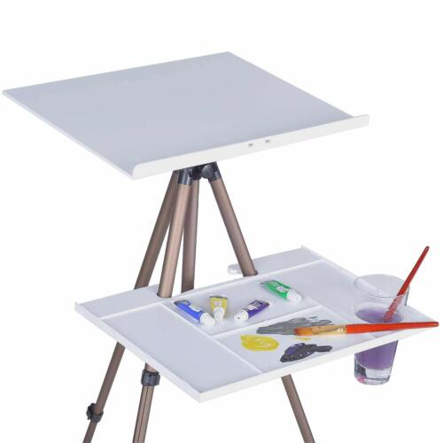 Art Easel Stand /& Palettes for Painting Drawing Adjustable with Portable Bag
