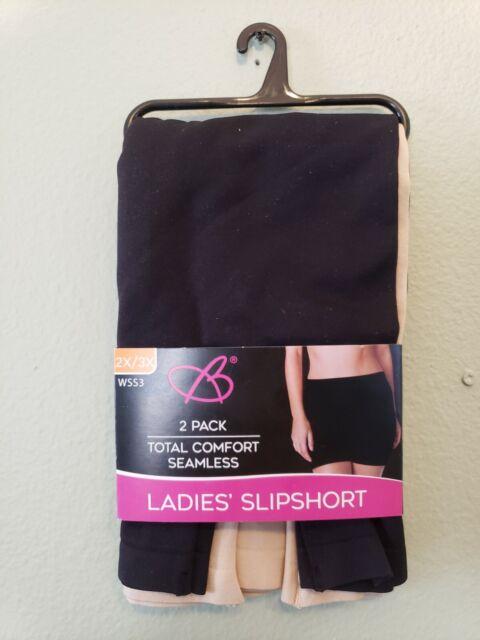 Bobbi Brooks 2 Pack Total Comfort Seamless Ladies