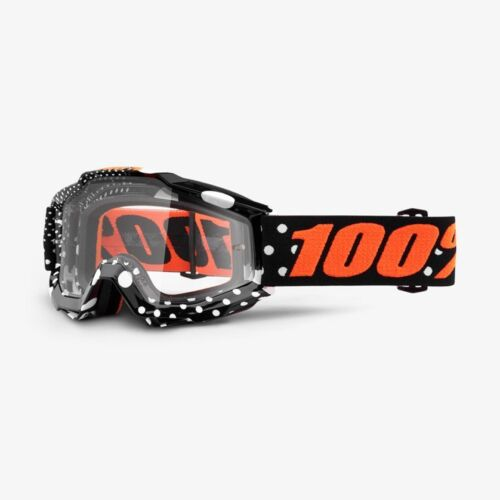 100/% ACCURI Adult Goggles Offroad MX Motocross GASPARD Anti-Fog Clear Lens