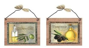 Italian-Pictures-Cooking-Oils-Bistro-Tuscany-Olive-Bottles-Wall-Hangings-Plaques
