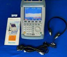 Rohde Amp Schwarz Fsh313 100khz 3ghz Handheld Spectrum Analyzer Withtrack Generator