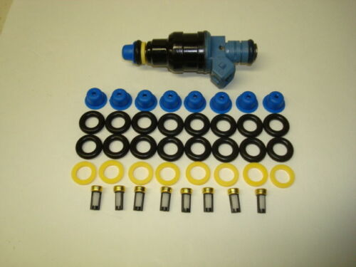 1991-2002 Ford F150 4.6L 5.4L Bosch EV1 Fuel Injector Rebuild//Repair O-ring Kit