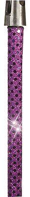 Beducht Genuine Micfx Purple Sequin Shine Sensation Microphone Stand Holder Sleeve Cover Van Hoge Kwaliteit