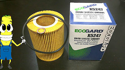 Synthetic Oil Filter for 2006-2010 BMW 550i with 4.8L Engine 10k Mile