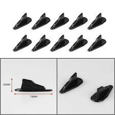 10 x Car EVO-Style Roof Shark Fins Wing Spoilers Generator Universal Decorative