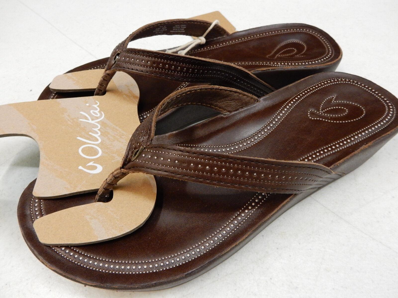 297d4b80e2bbba Buy OluKai Womens Sandals Ola Dark Java Size 9 online