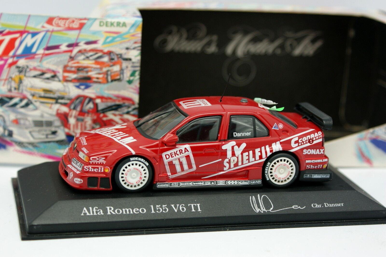 Minichamps 1 43 - Alfa Romeo 155 V6 TI DTM 94 Danner