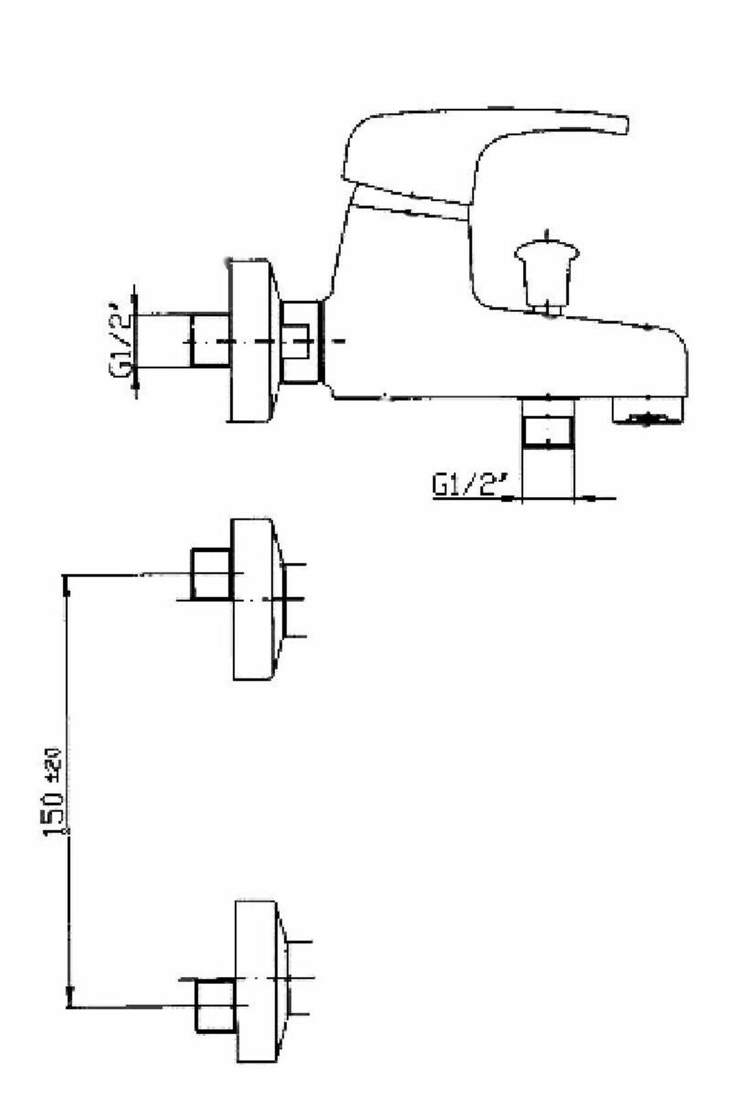Set Waschtischarmatur Wannenarmatur Wannenfüller Wasserhahn  weiß | Produktqualität  | | | Garantiere Qualität und Quantität  | Spielzeug mit kindlichen Herzen herstellen  cff7ea