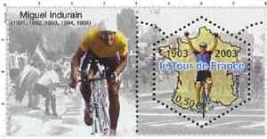Timbre-Neuf-France-TTB-Centenaire-du-Tour-de-France-2003-N-3583-Miguel-Indurain