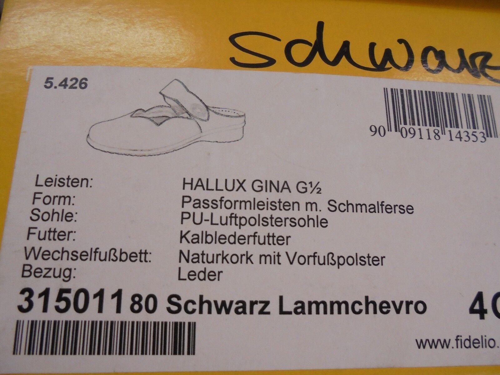 Fidelio 1/2  Hallux  GINA  Weite: G 1/2 Fidelio  Modell 315011  80  Wechselfußbett 80c647