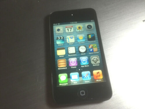 Used Apple iPod touch 1st//2nd//3rd//4th generation 8,16,32,64 GB Black And White