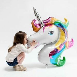 UNICORN-FOIL-BALLOON-FANTASY-HORSE-LOLLY-LOOT-BIRTHDAY-PARTY-DECORATIONS