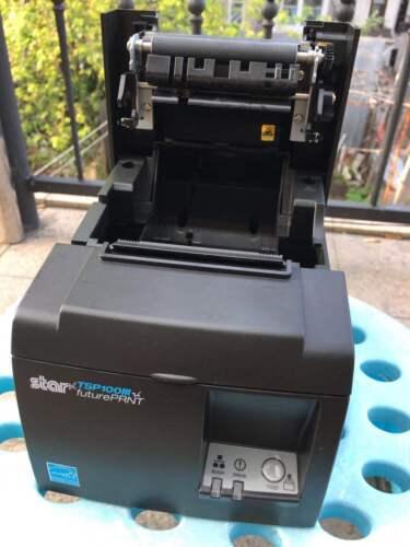 Square UberEat Grubhub Star Micronics TSP100III LAN Auto-Cut POS Printer