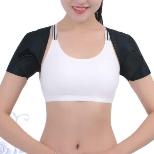Soft Self-Heating Relax Shoulder Pad Support Brace Belts Magnetic Therapy Strap