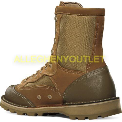 "Danner//Wellco USMC RAT 8/"" Military Leather Boots Mojave GTX GoreTex Sz 6.5-9 NEW"