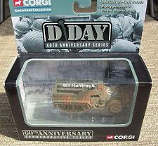 2004 CORGI M3 HALFTRACK, D DAY 60TH ANNIV. SERIES, DIE-CAST, MIB
