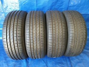 4-x-Pneus-D-039-ete-Pneus-Pirelli-Cinturato-p7-225-55-r17-97y-Dot-17-RSC-7-5mm